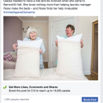 It's vital to devised a creative idea to catch the attention of tens of thousands of Facebook users